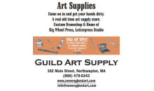 Guild Art-30% off $50 gift certificates to Guild Art