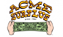 ACME Surplus-Save 30% at Acme Surplus