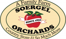 Soergel Orchards-Half off at Soergel Orchards! Get your groceries, home accents, garden supplies and more!