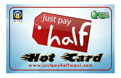 WPXI'S HOT CARD-$50 HOT CARD deal! Use at dozens of local businesses! Only $22.49