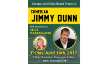 NHTI-NHTI Spring Comedy Show with Jimmy Dunn and Kelly MacFarland