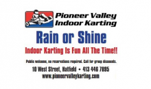 Pioneer Valley Indoor Karting-Two Great deals at PVIK