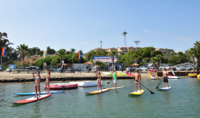 California Water Sports-$27 for Two-Hour Double Kayak, Canoe, SUP, or Aqua-Cycle Rental at Carlsbad Lagoon