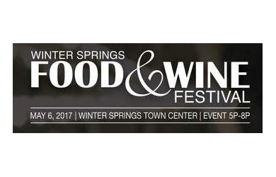 Winter Springs Food & Wine -Two for $55 (Regular price One for $35)