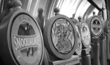 Snoqualmie Taproom & Brewery-Pints and a Growler at Snoqualmie Taproom & Brewery