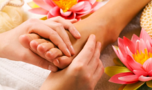 Bibi Beauty Bar at M Salon -60 Minute Foot and Leg Reflexology Massage with Herbal Detox and Aromatherapy Treatment