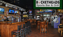 Bucketheads Sports Bar and Grill-$15 certificate for $7.50 at Bucketheads Sports Bar & Grill