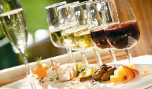 Cafe Paris-5 Course Wine Pairing for 2