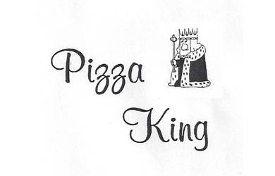 Image result for pizza king mount pleasant logo