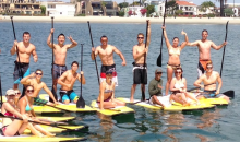 MBSC-$15 for 4-Hour Stand-Up Paddle Boards, Kayak, Surf Board, Pedal Boat or Beach Cruiser